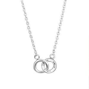 Mini Twosome Necklace - Efva Attling halsband - Snabb frakt & paketinslagning - Nordicspectra.se