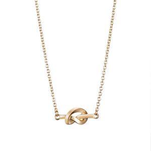 Love Knot Necklace Gold - Efva Attling halsband - Snabb frakt & paketinslagning - Nordicspectra.se