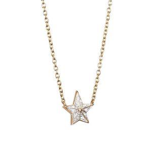 Catch A Falling Star & Stars Necklace Gold - Efva Attling halsband - Snabb frakt & paketinslagning - Nordicspectra.se