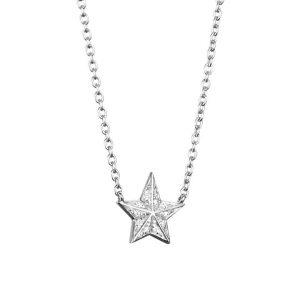 Catch A Falling Star & Stars Necklace White Gold - Efva Attling halsband - Snabb frakt & paketinslagning - Nordicspectra.se