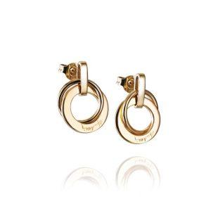 Twosome Earrings Gold - Efva Attling örhängen - Snabb frakt & paketinslagning - Nordicspectra.se