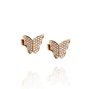 Little Miss Butterfly & Stars Ear Gold - Efva Attling örhängen - Snabb frakt & paketinslagning - Nordicspectra.se