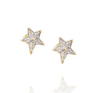 Catch A Falling Star & Stars Ear Gold - Efva Attling örhängen - Snabb frakt & paketinslagning - Nordicspectra.se
