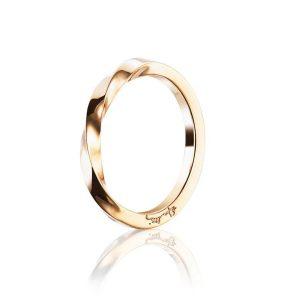 Viking Plain Ring Gold - Efva Attling ringar - Snabb frakt & paketinslagning - Nordicspectra.se