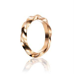 Viking Wide Ring Gold - Efva Attling ringar - Snabb frakt & paketinslagning - Nordicspectra.se