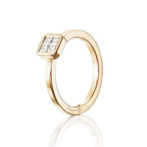 4 Love Ring 0.20 ct Gold - Efva Attling ringar - Snabb frakt & paketinslagning - Nordicspectra.se