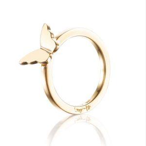 Little Miss Butterfly Ring Gold - Efva Attling ringar - Snabb frakt & paketinslagning - Nordicspectra.se
