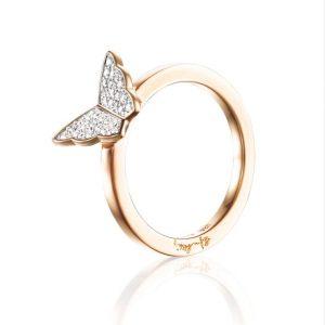 Little Miss Butterfly & Stars Ring - Efva Attling ringar - Snabb frakt & paketinslagning - Nordicspectra.se