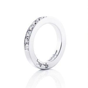 7 Stars & Signature Ring White Gold - Efva Attling ringar - Snabb frakt & paketinslagning - Nordicspectra.se
