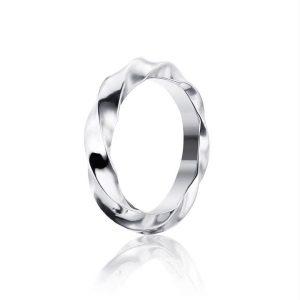 Viking Wide Ring White Gold - Efva Attling ringar - Snabb frakt & paketinslagning - Nordicspectra.se