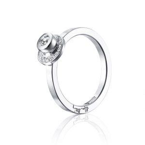 AVO Wedding Ring White Gold - Efva Attling ringar - Snabb frakt & paketinslagning - Nordicspectra.se