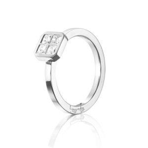 4 Love Ring 0.40 ct White Gold - Efva Attling ringar - Snabb frakt & paketinslagning - Nordicspectra.se
