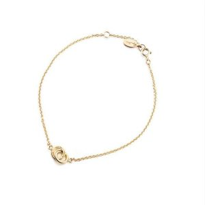 Mini Twosome Bracelet Gold - Efva Attling armband - Snabb frakt & paketinslagning - Nordicspectra.se