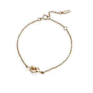 Love Knot Bracelet Gold - Efva Attling armband - Snabb frakt & paketinslagning - Nordicspectra.se