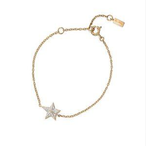 Catch A Falling Star & Stars Bracelet Gold - Efva Attling armband - Snabb frakt & paketinslagning - Nordicspectra.se