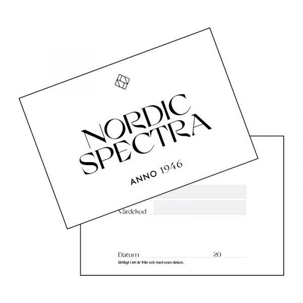 Presentkort för Nordic Spectra