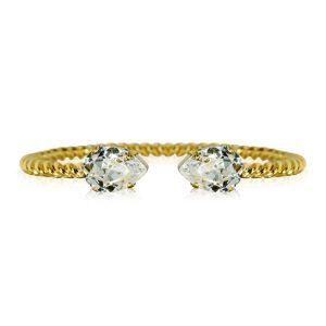 Mini Drop Bracelet Gold Crystal - Caroline Svedbom - Snabb frakt & paketinslagning - Nordicspectra.se