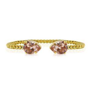 Mini Drop Bracelet Gold Vintage Rose - Caroline Svedbom - Snabb frakt & paketinslagning - Nordicspectra.se