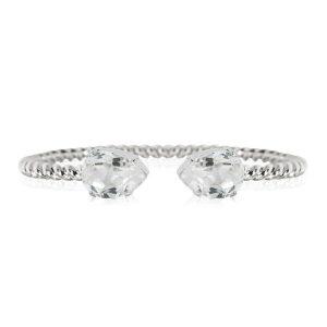 Mini Drop Bracelet Rhodium Crystal - Caroline Svedbom - Snabb frakt & paketinslagning - Nordicspectra.se
