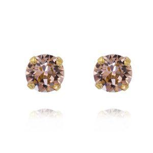 Classic Stud Earring Gold Vintage Rose - Caroline Svedbom - Snabb frakt & paketinslagning - Nordicspectra.se