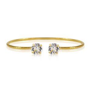Classic Petite Bracelet Gold Crystal - Caroline Svedbom - Snabb frakt & paketinslagning - Nordicspectra.se