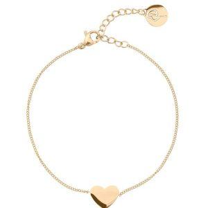 Pure Heart Bracelet Gold - Edblad - Snabb frakt & paketinslagning - Nordicspectra.se