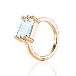 Beautiful Dreamer Ring - Topaz Gold - Efva Attling ringar - Snabb frakt & paketinslagning - Nordicspectra.se