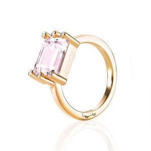 Beautiful Dreamer Ring - Morganite Gold - Efva Attling ringar - Snabb frakt & paketinslagning - Nordicspectra.se