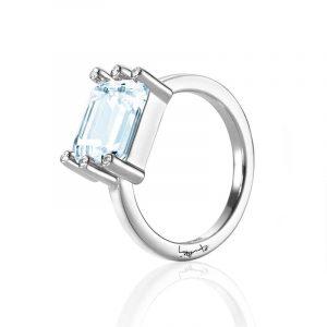 Beautiful Dreamer Ring - Topaz White Gold - Efva Attling ringar - Snabb frakt & paketinslagning - Nordicspectra.se