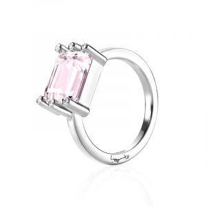 Beautiful Dreamer Ring - Morganite White Gold - Efva Attling ringar - Snabb frakt & paketinslagning - Nordicspectra.se