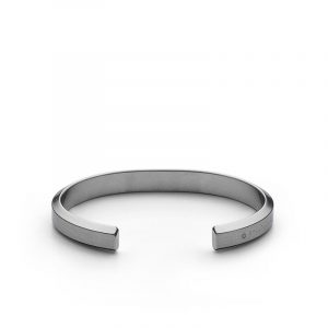 Icon Cuff - Matte Steel - Skultuna - Snabb frakt & paketinslagning - Nordicspectra.se