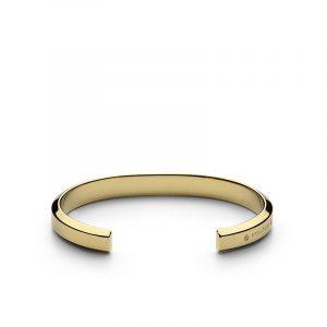 Icon Cuff - Gold Plated - Skultuna - Snabb frakt & paketinslagning - Nordicspectra.se