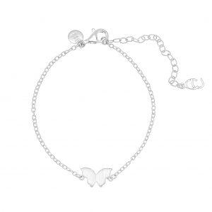 Butterfly brace silver -CU Jewellery - Snabb frakt & paketinslagning - Nordicspectra.se