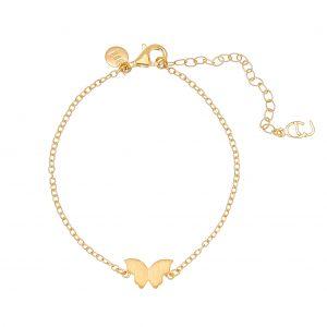 Butterfly brace gold -CU Jewellery - Snabb frakt & paketinslagning - Nordicspectra.se