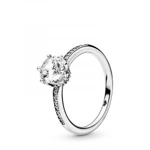 Clear Sparkling Crown Ring - PANDORA - Snabb frakt & paketinslagning - Nordicspectra.se