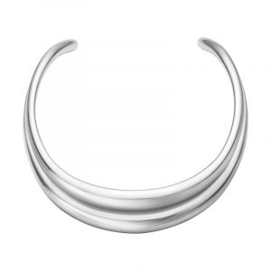 Curve Halsring - Georg Jensen halsband - Snabb frakt & paketinslagning - Nordicspectra.se