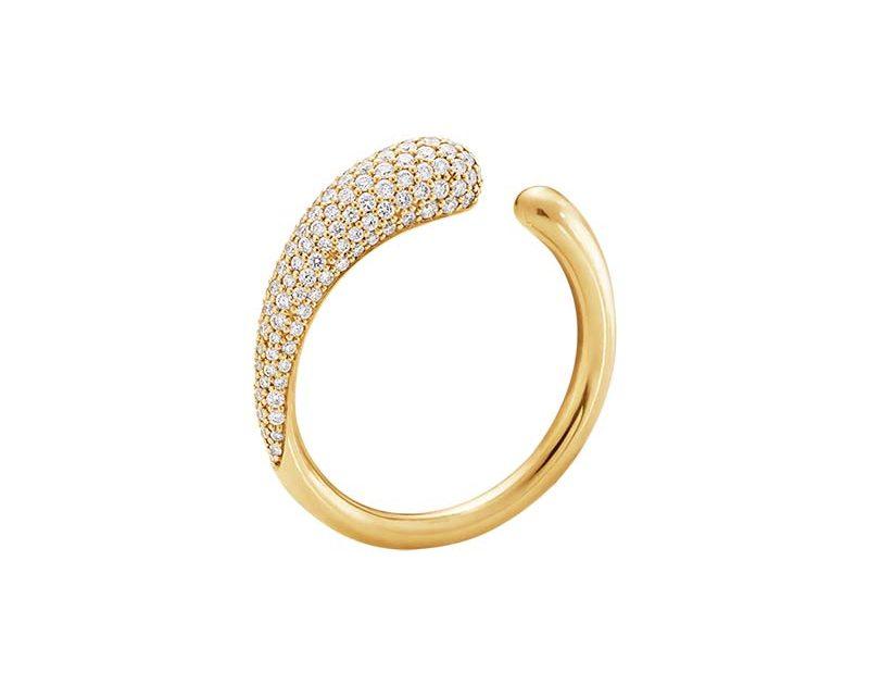 Georg Jensen Mercy Ring Guld & Diamanter