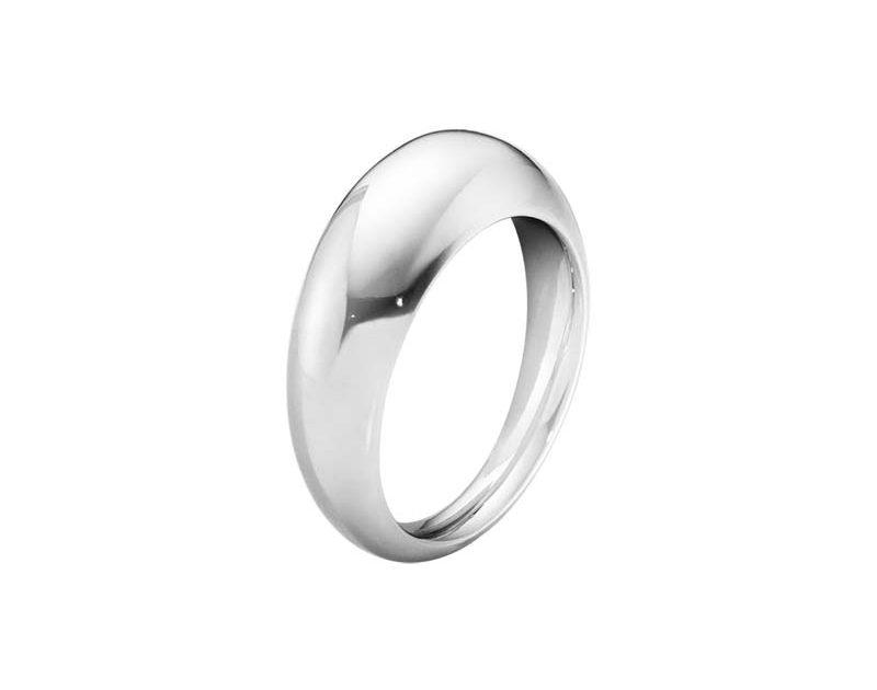 Georg Jensen Curve Ring Slim