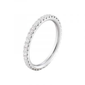 Aurora Allians Vitguld med Diamanter 0.46 ct - Georg Jensen ringar - Snabb frakt & paketinslagning - Nordicspectra.se