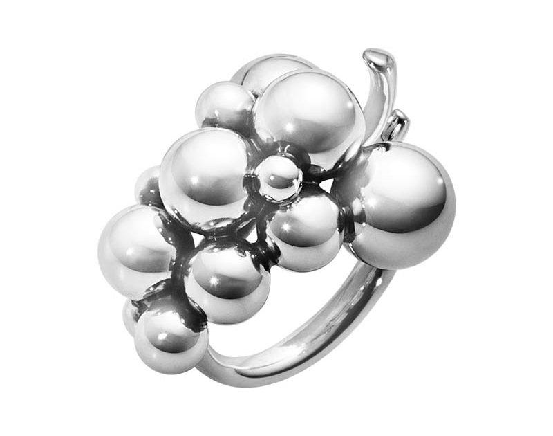 Georg Jensen Moonlight Grapes Ring Medium