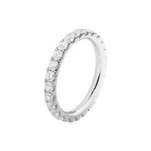 Aurora Allians Vitguld med Diamanter 0.91 ct - Georg Jensen ringar - Snabb frakt & paketinslagning - Nordicspectra.se
