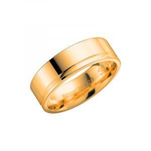 Schalins 2001-7 Guld  - Förlovningsring - Nordicspectra.se
