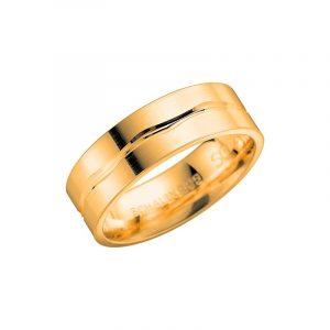 Schalins 2002-7 Guld  - Förlovningsring - Nordicspectra.se
