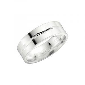 Schalins 2002-7 Silver  - Förlovningsring - Nordicspectra.se