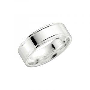 Schalins 2004-7 Silver  - Förlovningsring - Nordicspectra.se