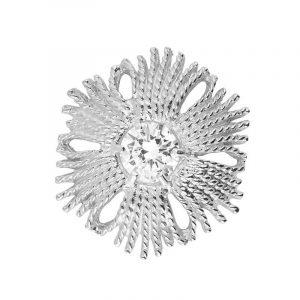Gatsby Stone Brosch Silver -CU Jewellery - Snabb frakt & paketinslagning - Nordicspectra.se
