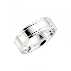 Schalins 2017-7 Silver  - Förlovningsring - Nordicspectra.se