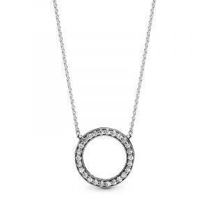 Circle of Sparkle Halsband - PANDORA - Snabb frakt & paketinslagning - Nordicspectra.se
