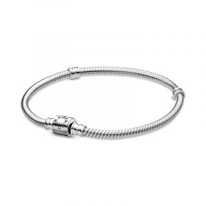 Moments Barrel Clasp Snake Chain Armband - PANDORA - Snabb frakt & paketinslagning - Nordicspectra.se