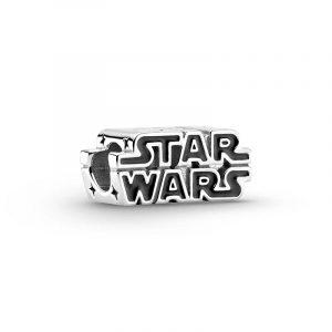 Glänsande Berlock med Star Wars-logotyp Silver - PANDORA - Snabb frakt & paketinslagning - Nordicspectra.se